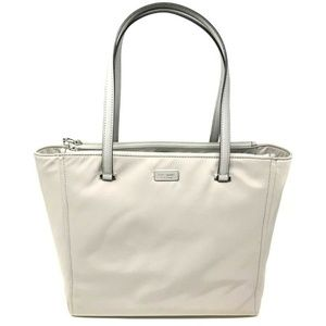 Kate Spade New York Dawn Soft Taupe Nylon Tote Bag